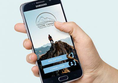Globe Trekker – LOGOTYPE / DESIGN WEB
