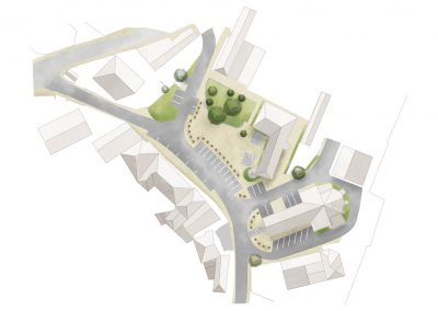 plan paysager centre bourg