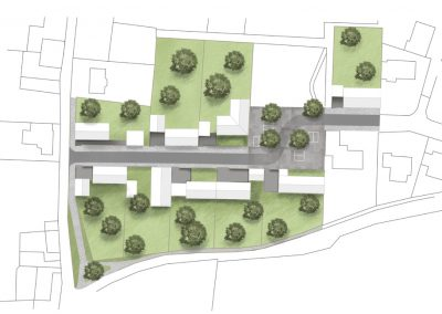 plan paysager de lotissement