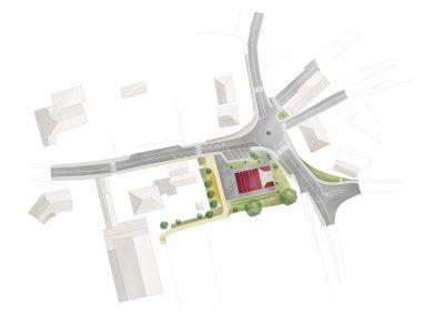 plan de centre bourg